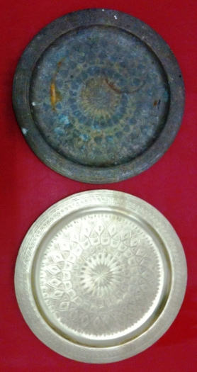 Brash Trays - Before & After Cleaning