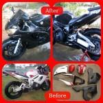Bare Naked Industries - Motorbike Repaint